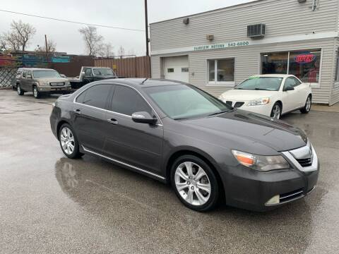 2010 Acura RL for sale at Fairview Motors in West Allis WI