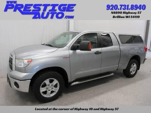 2013 Toyota Tundra for sale at Prestige Auto Sales in Brillion WI