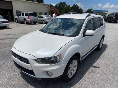 2013 Mitsubishi Outlander for sale at Brewster Used Cars in Anderson SC