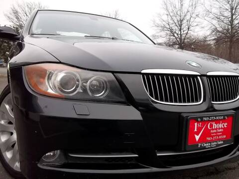 2008 BMW 3 Series for sale at 1st Choice Auto Sales in Fairfax VA