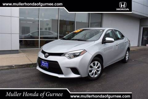 2015 Toyota Corolla for sale at RDM CAR BUYING EXPERIENCE in Gurnee IL
