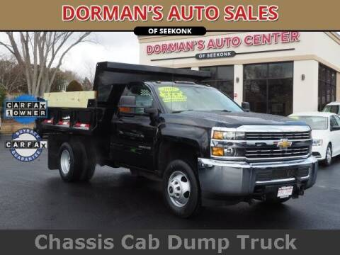 2015 Chevrolet Silverado 3500HD for sale at DORMANS AUTO CENTER OF SEEKONK in Seekonk MA