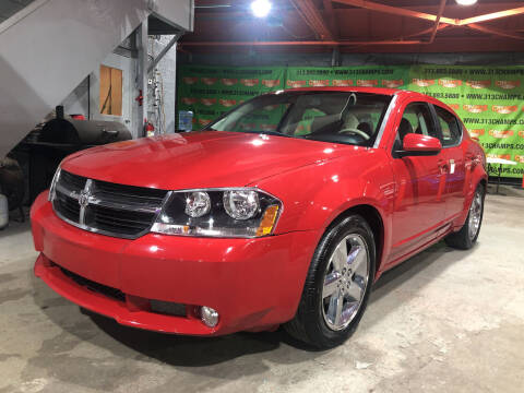 2008 Dodge Avenger for sale at Champs Auto Sales in Detroit MI