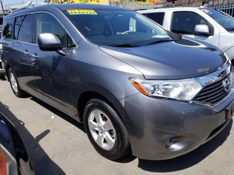 2016 Nissan Quest for sale at Ournextcar/Ramirez Auto Sales in Downey CA