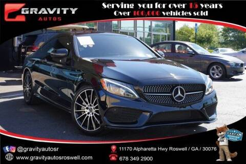 2018 Mercedes-Benz C-Class for sale at Gravity Autos Roswell in Roswell GA