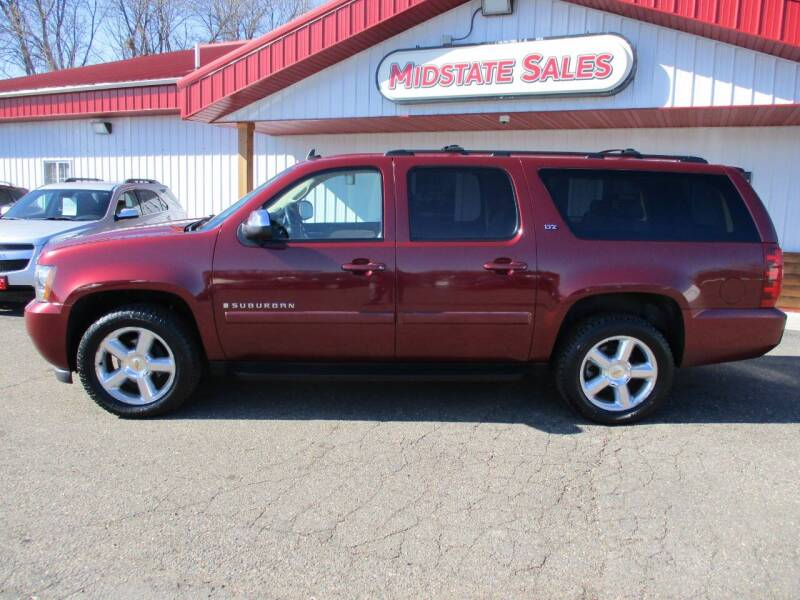 2008 Chevrolet Suburban for sale at Midstate Sales in Foley MN