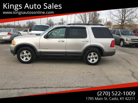 2004 Ford Explorer for sale at Kings Auto Sales in Cadiz KY