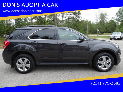 2016 Chevrolet Equinox for sale at DON'S ADOPT A CAR in Cadillac MI