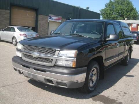 2004 Chevrolet Silverado 1500 for sale at ELITE AUTOMOTIVE in Euclid OH