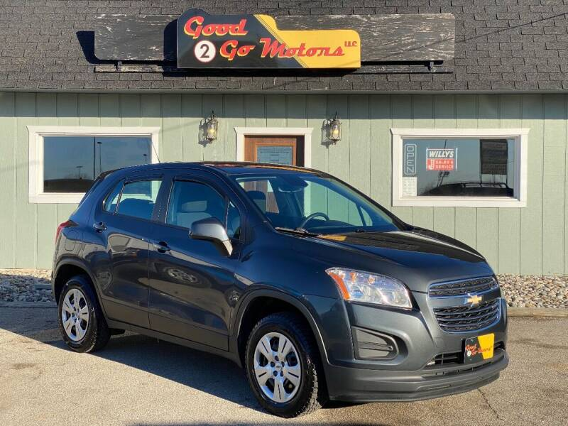 2016 Chevrolet Trax for sale at Good 2 Go Motors LLC in Adrian MI