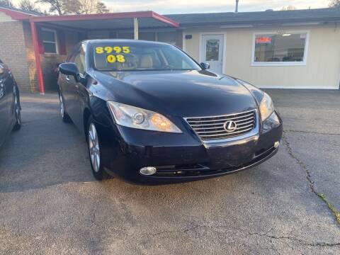 2008 Lexus ES 350 for sale at Port City Auto Sales in Baton Rouge LA