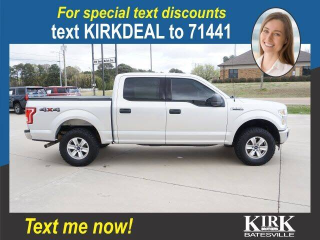 2015 Ford F-150 for sale at Kirk Brothers Batesville in Batesville MS
