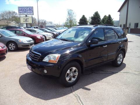 2008 Kia Sorento for sale at Budget Motors - Budget Acceptance in Sioux City IA