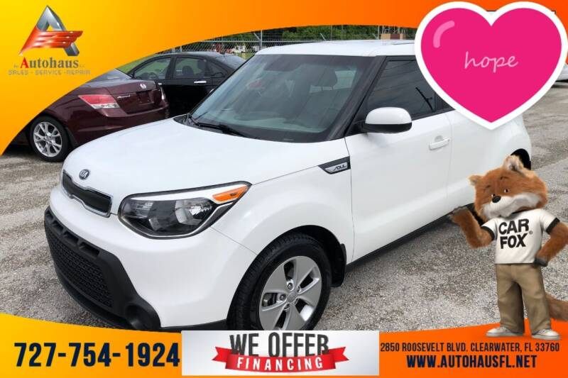 2016 Kia Soul for sale at Das Autohaus Quality Used Cars in Clearwater FL