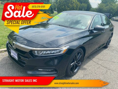 2018 Honda Accord for sale at STRAIGHT MOTOR SALES INC in Paterson NJ