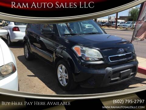 2011 Kia Soul for sale at Ram Auto Sales LLC in Phoenix AZ