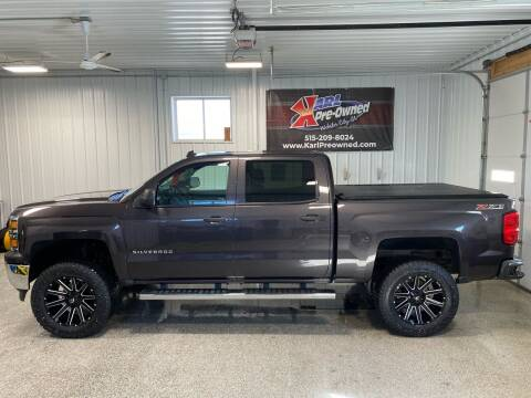 2014 Chevrolet Silverado 1500 for sale at Karl Pre-Owned in Glidden IA