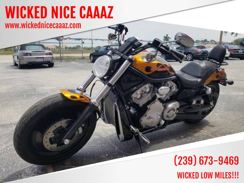 2004 Harley Davidson Vrod for sale at WICKED NICE CAAAZ in Cape Coral FL