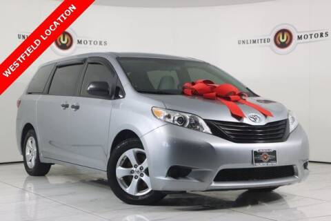 2015 Toyota Sienna for sale at INDY'S UNLIMITED MOTORS - UNLIMITED MOTORS in Westfield IN