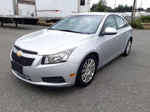 2012 Chevrolet Cruze for sale at South Tacoma Motors Inc in Tacoma WA