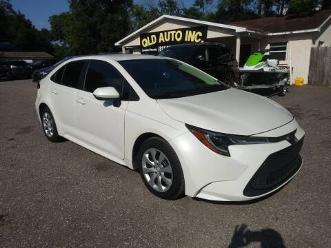 2020 Toyota Corolla for sale at QLD AUTO INC in Tampa FL