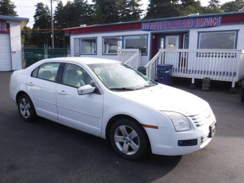 2007 Ford Fusion for sale at 777 Auto Sales and Service in Tacoma WA