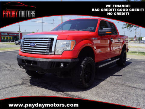 2011 Ford F-150 for sale at Payday Motors in Wichita KS