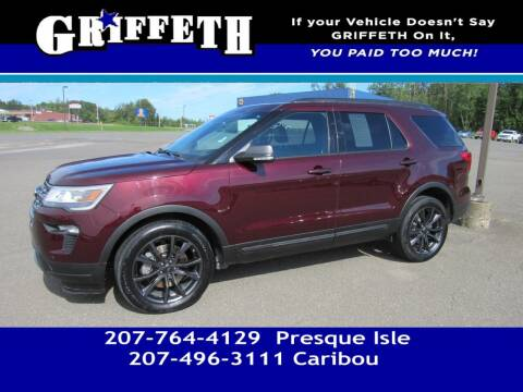 2018 Ford Explorer for sale at Griffeth Mitsubishi - Pre-owned in Caribou ME