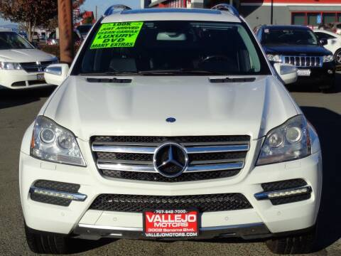 2010 Mercedes-Benz GL-Class for sale at Vallejo Motors in Vallejo CA