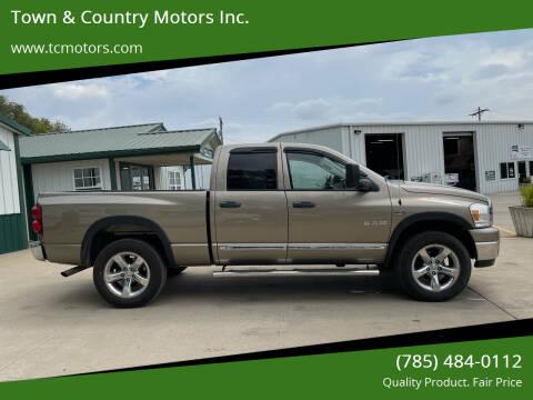 2008 Dodge Ram Pickup 1500 for sale at Town & Country Motors Inc. in Meriden KS