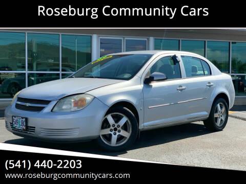 2009 Chevrolet Cobalt for sale at Roseburg Community Cars in Roseburg OR