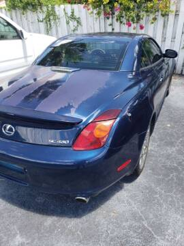 2003 Lexus SC 430 for sale at Boca Leasing Center Inc. in West Palm Beach FL