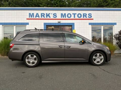 2011 Honda Odyssey for sale at Mark's Motors in Northampton MA