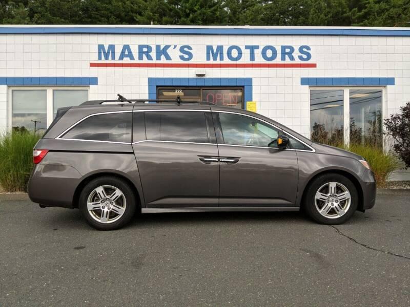 2011 Honda Odyssey for sale at Mark's Motors in Northampton MA