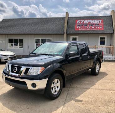 2010 Nissan Frontier for sale at Stephen Motor Sales LLC in Caldwell OH
