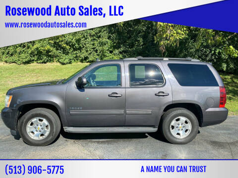 2010 Chevrolet Tahoe for sale at Rosewood Auto Sales, LLC in Hamilton OH