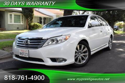 2011 Toyota Avalon for sale at Prestige Auto Sports Inc in North Hollywood CA