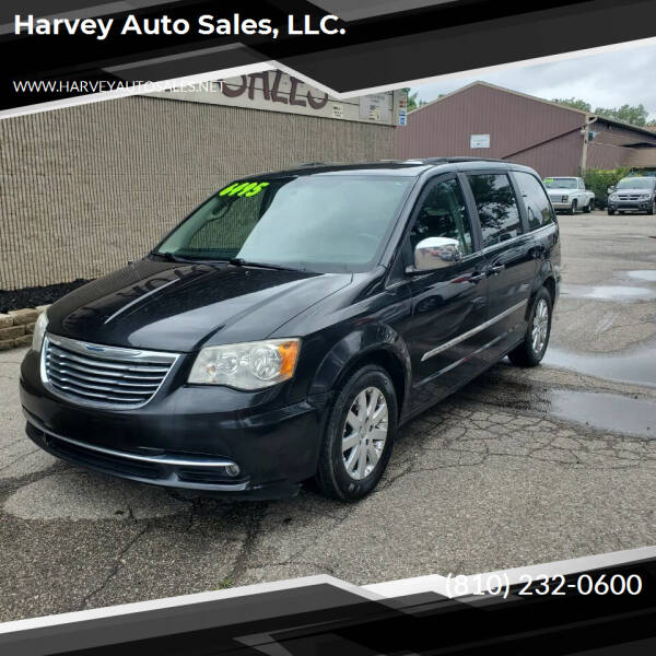 2011 Chrysler Town and Country for sale at Harvey Auto Sales, LLC. in Flint MI