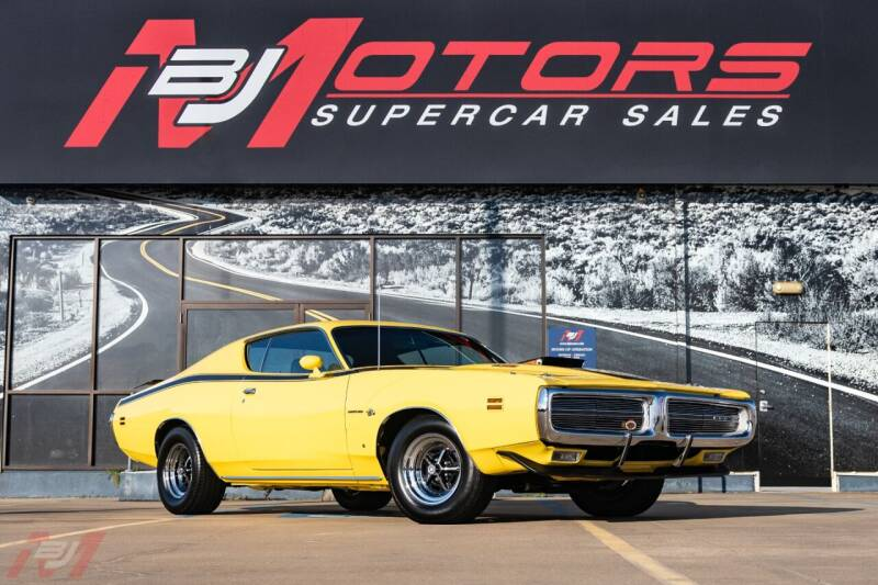 1971 Dodge Charger for sale at BJ Motors in Tomball TX