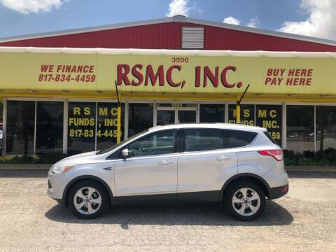 2013 Ford Escape for sale at Ron Self Motor Company in Fort Worth TX