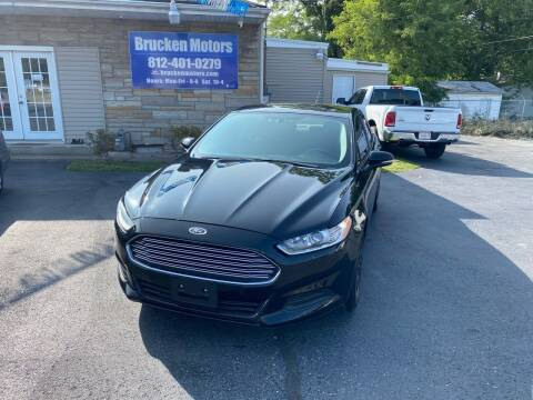 2016 Ford Fusion for sale at Brucken Motors in Evansville IN