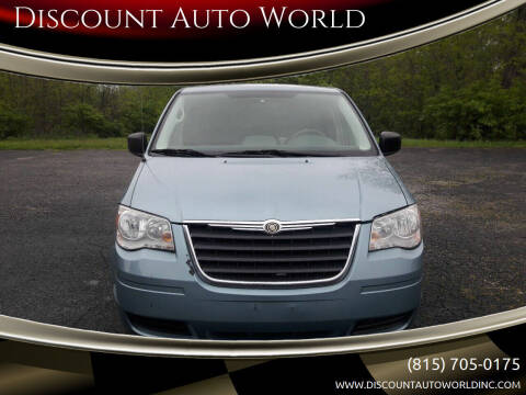 2008 Chrysler Town and Country for sale at Discount Auto World in Morris IL