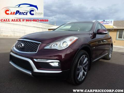 2017 Infiniti QX50 for sale at CarPrice Corp in Murray UT