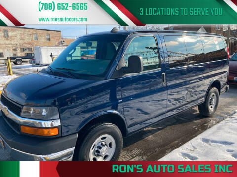 2018 Chevrolet Express Passenger for sale at RON'S AUTO SALES INC in Cicero IL