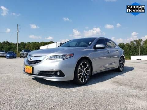 2016 Acura TLX for sale at Hardy Auto Resales in Dallas GA
