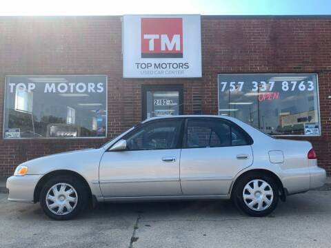 2002 Toyota Corolla for sale at Top Motors LLC in Portsmouth VA