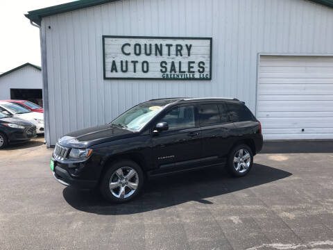 2014 Jeep Compass for sale at COUNTRY AUTO SALES LLC in Greenville OH
