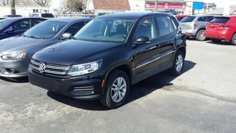 2013 Volkswagen Tiguan for sale at Nonstop Motors in Indianapolis IN