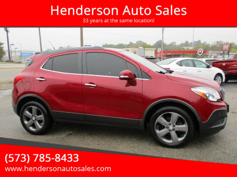 2014 Buick Encore for sale at Henderson Auto Sales in Poplar Bluff MO
