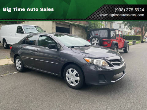 2013 Toyota Corolla for sale at Big Time Auto Sales in Vauxhall NJ